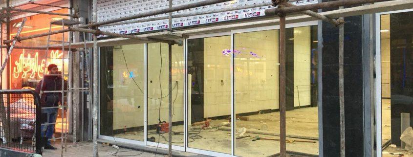 نصب شیشه دوجداره