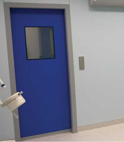 درب لولایی اتوماتیک بیمارستانی