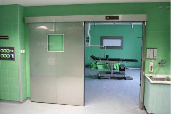 درب اتوماتیک بیمارستانی